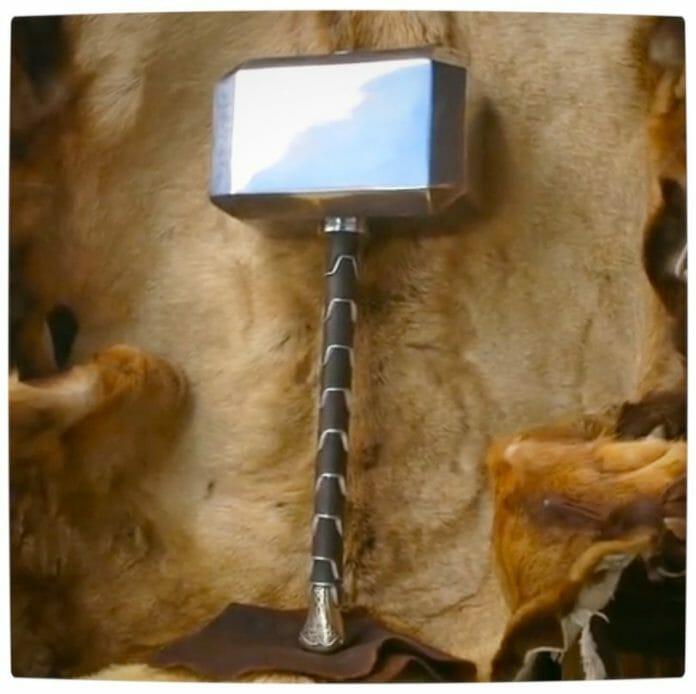 Vamers - SUATMM - Forging Mjölnir (Thors Hammer) in Real Life - The Real Deal - Full