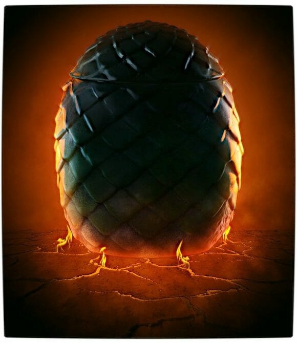 Vamers - SUATMM - Own Your Very Own Game of Thrones Dragon Egg - Rhaegal's Egg