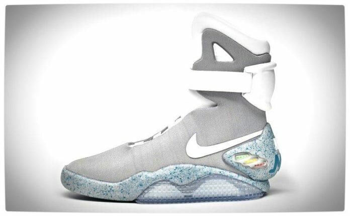 Vamers - FYI - Gadgetology - SUATMM - Nike Will Introduce Back to the Future's 'Power Laces' in 2015 - Marty McFly Nike Air Mags - The Shoe