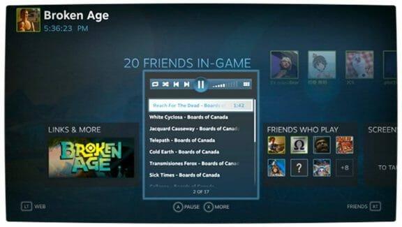 Vamers - FYI - Gadgetology - Valve Reveals Steam Music - Music Player