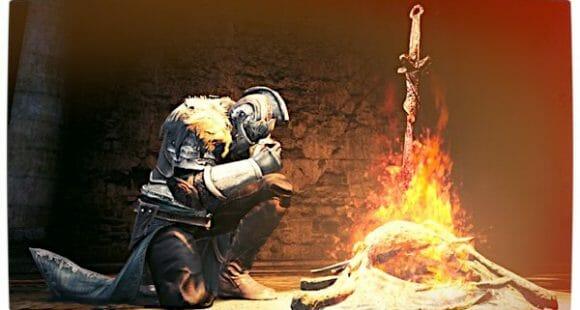 Vamers - FYI - Gaming - The Making of Dark Souls II - Fire Kneel