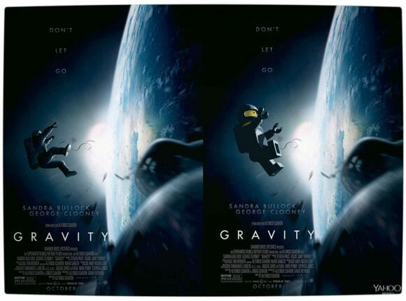 Vamers - Geekosphere - Artistry - 2014's Best Picture Oscar Nominees Recreated as Lego Movies - Gravity - Final