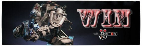 Vamers - Win WIth Vamers - Titanfall Collectors Edition Competition - Dark Banner