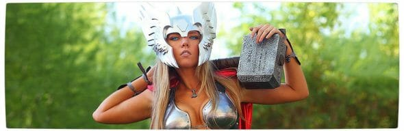Vamers - Geekosphere - Thorsday - Toni Darling Gender-Bends Thorsday - Banner