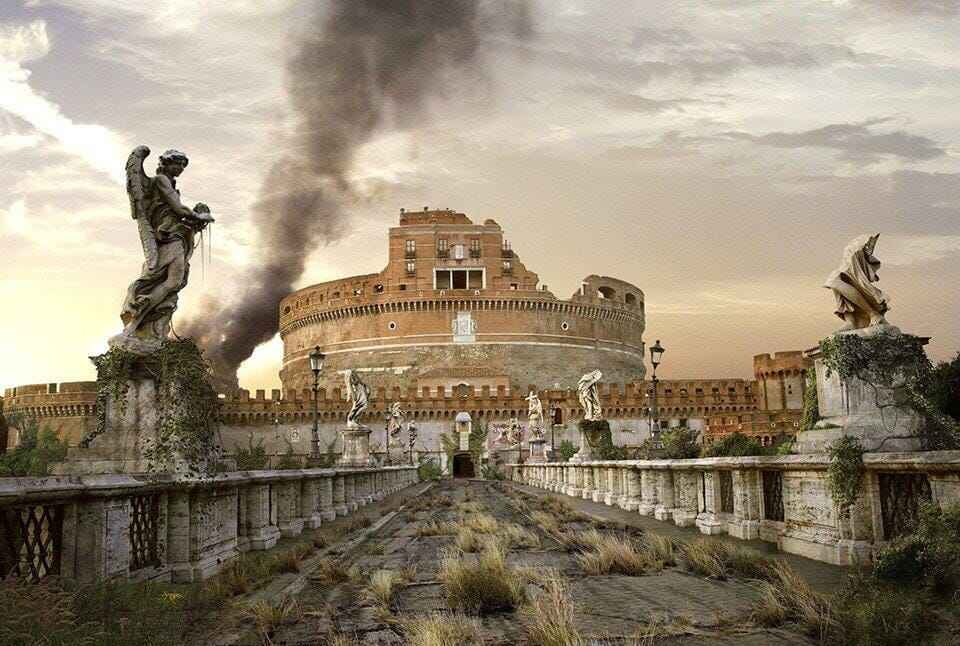 Vamers - Artistry - The World of The Last of Us- Envisioning a Post Apocalyptic Future - Castel Saint'Angelo Apocalypse