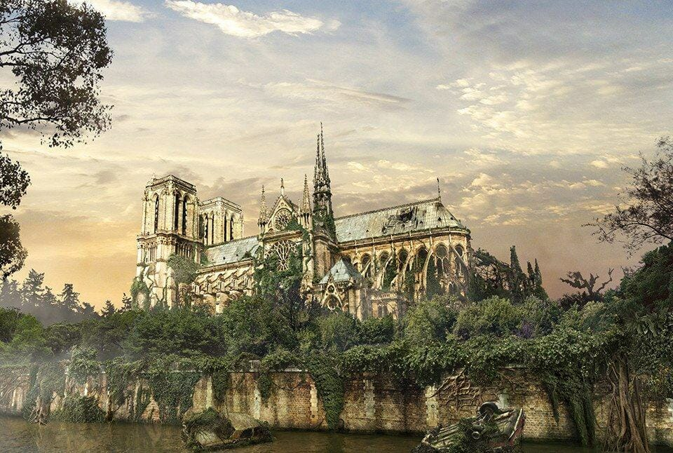 Vamers - Artistry - The World of The Last of Us- Envisioning a Post Apocalyptic Future - Notre Dame Apocalypse