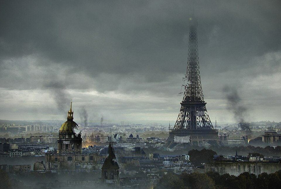 Vamers - Artistry - The World of The Last of Us- Envisioning a Post Apocalyptic Future - Paris Apocalypse