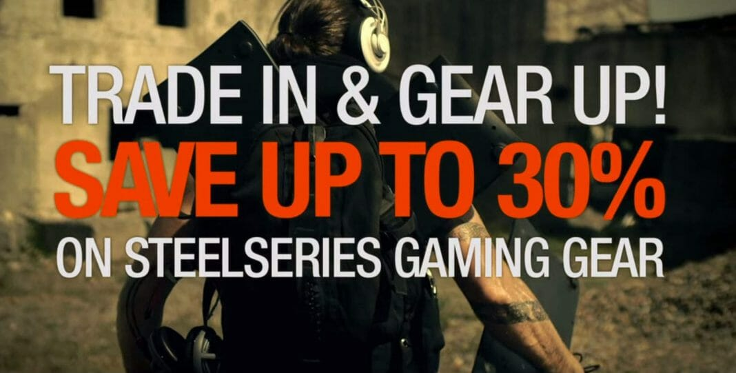 Vamers - FYI - Gaming - Help the Less Fortunate 'Step-Up' with the SteelSeries Peripheral Trade-In Program - Featured Banner