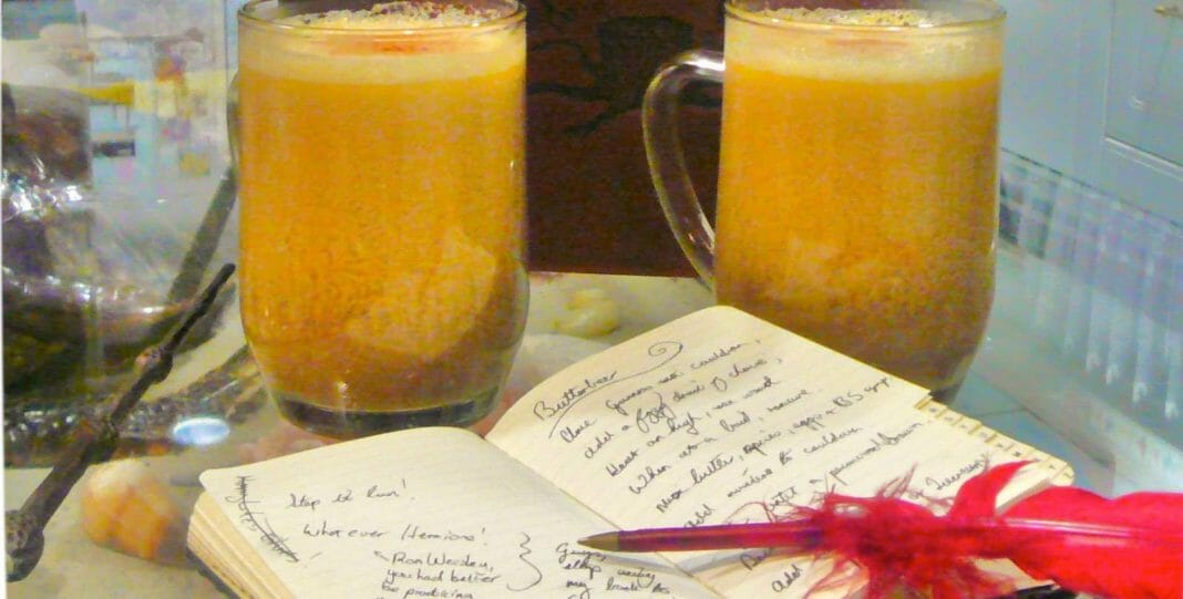 Vamers - Vamers Voice - Harry Potter Butterbeer Recipe - Featured Image