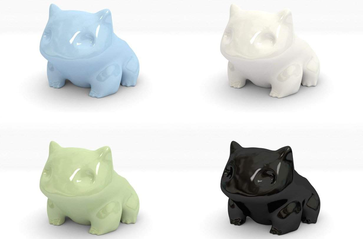 Vamers - SUATMM - Plant Your Own Bulbasaur Pot Plant - Different Colours