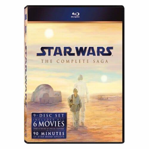 Vamers - Geekmas Gift Guide - Star Wars Complete Saga Blu Ray