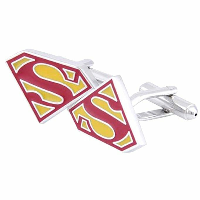 Vamers - Geekmas Gift Guide - Superman Cufflinks