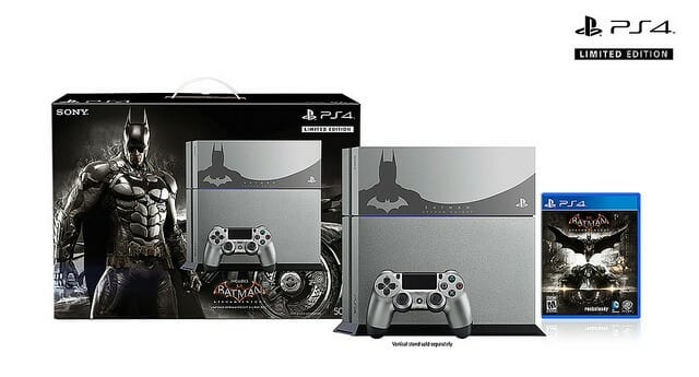 Vamers - FYI - Gaming - Sony Reveals Limited Edition Arkham Knight PlayStation 4 Console 01