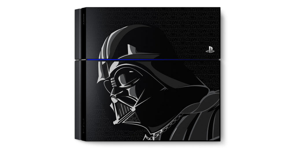 Vamers - FYI - Gaming - Come to the Dark Side with the Limited Edition Darth Vader PlayStation 4 - Console