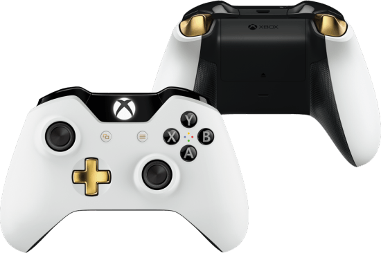 Vamers - FYI - Gaming - New Xbox One Elite Bundle has 1TB-Hybrid SSHD and Elite Controller - Lunar White Controller