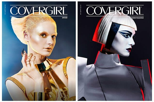 Vamers - FYI - Lifestyle - Awaken The Force With COVERGIRL Star Wars Makeup! Which Side Will You Choose - Droid and Stormtrooper Makeup Looks