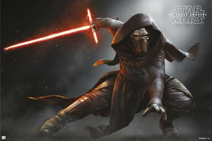 Vamers - FYI - Movies - Three New Posters for Star Wars- The Force Awakens - Kylo Ren