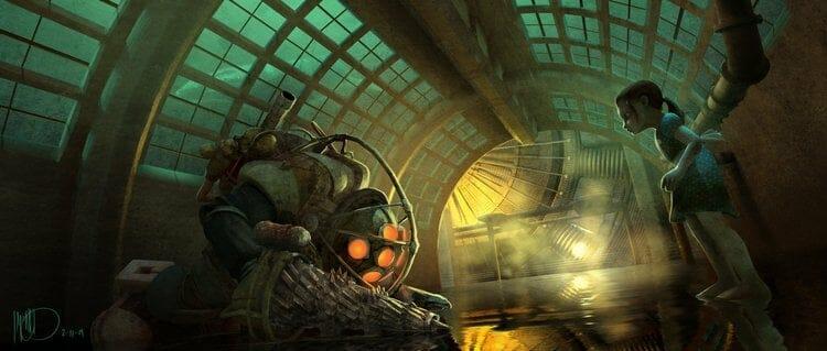 Vamers - Geekosphere - Artistry - Cancelled Bioshock Movie Concepts - 02