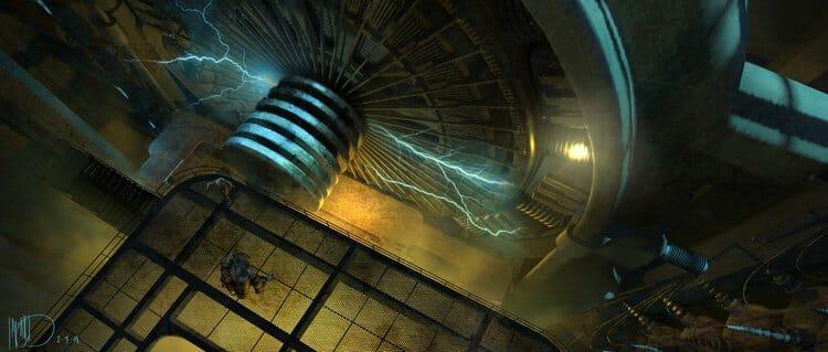 Vamers - Geekosphere - Artistry - Cancelled Bioshock Movie Concepts - 03