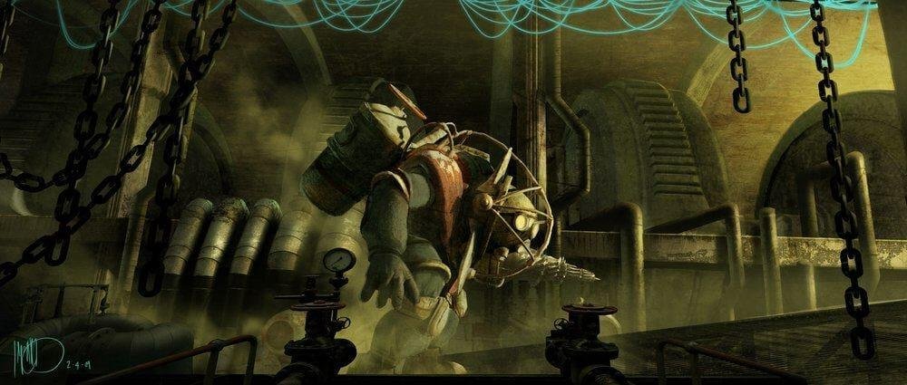 Vamers - Geekosphere - Artistry - Cancelled Bioshock Movie Concepts - 07