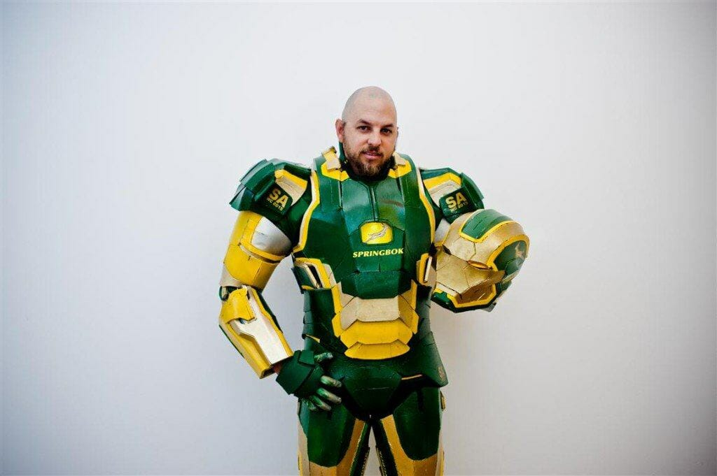 Vamers - Geekosphere - Lifestyle - Cosplay - Springbok's No. 1 Fan is Also South Africa's very own Iron Patriot - 03