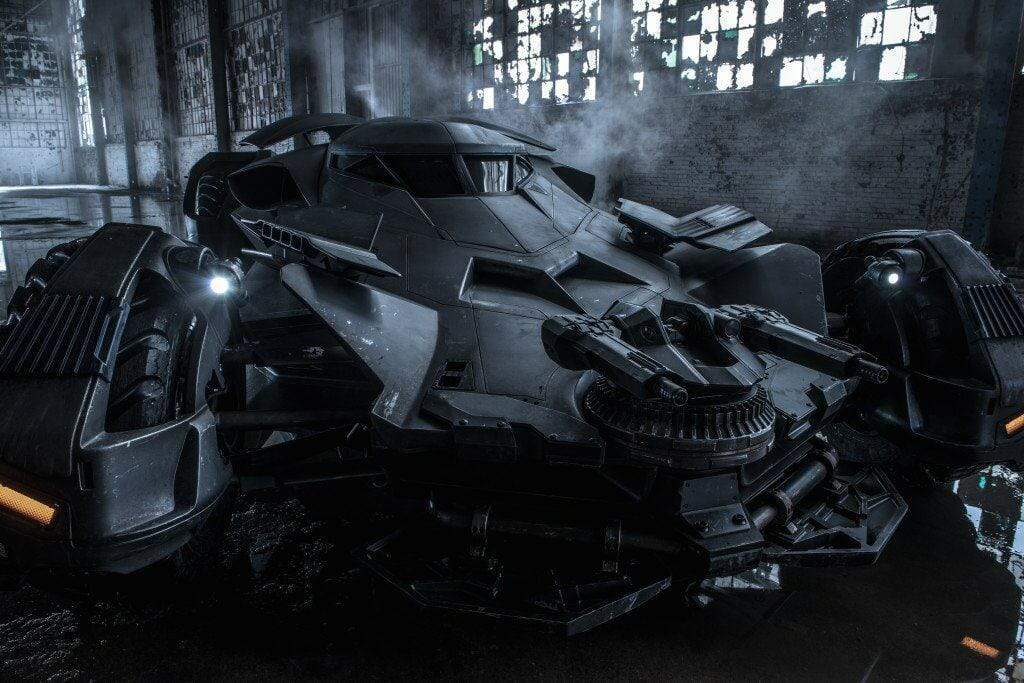 Vamers - FYI - Movies - Bruce Wayne is a True Techie in Batman v Superman Dawn of Justice - Bat Mobile