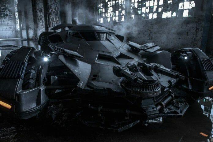 Vamers - FYI - Movies - Bruce Wayne is a True Techie in Batman v Superman Dawn of Justice - Bat Mobile