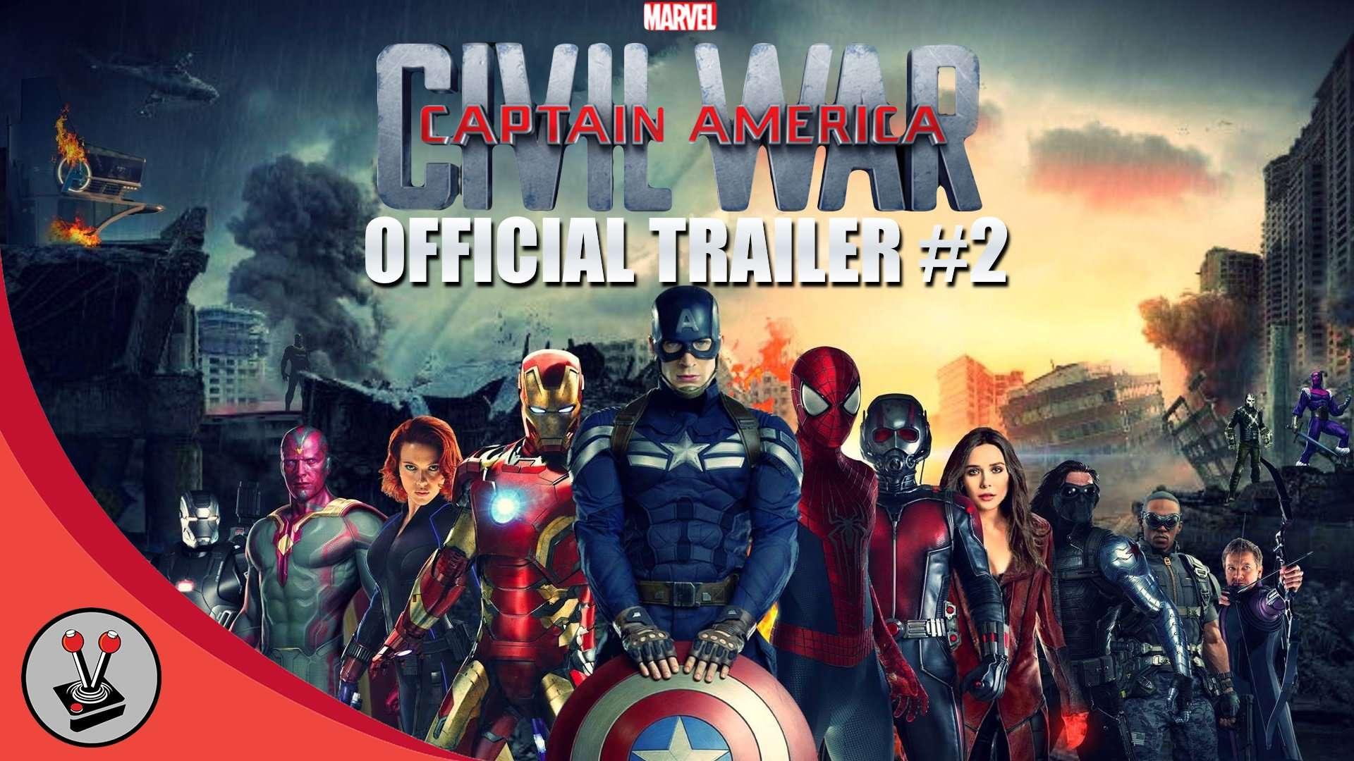 Marvel S Captain America Civil War Official Trailer 2