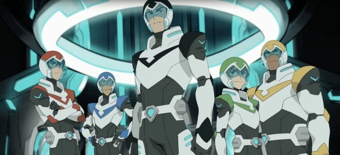 Vamers - FYI - TV - Voltron Legendary Defender is the Netflix Reboot of the 80s Classic - The Team