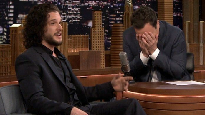 Vamers - FYI - Television - Ermahgerd - Kit Harrington Leaked Jon Snow's Fate to Avoid Speeding Ticket - Banner