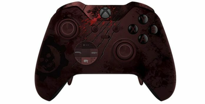 Vamers - FYI - Gaming - Microsoft is Releasing a Gears of War 4 Xbox Elite Controller - 01