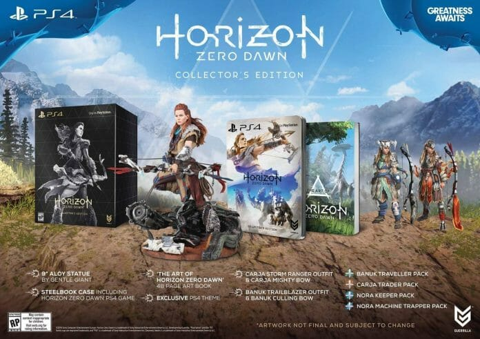 Vamers - FYI - Gaming - Take a look at Horizon Zero Dawn Collector's Editions Detailed - Collector's Edition
