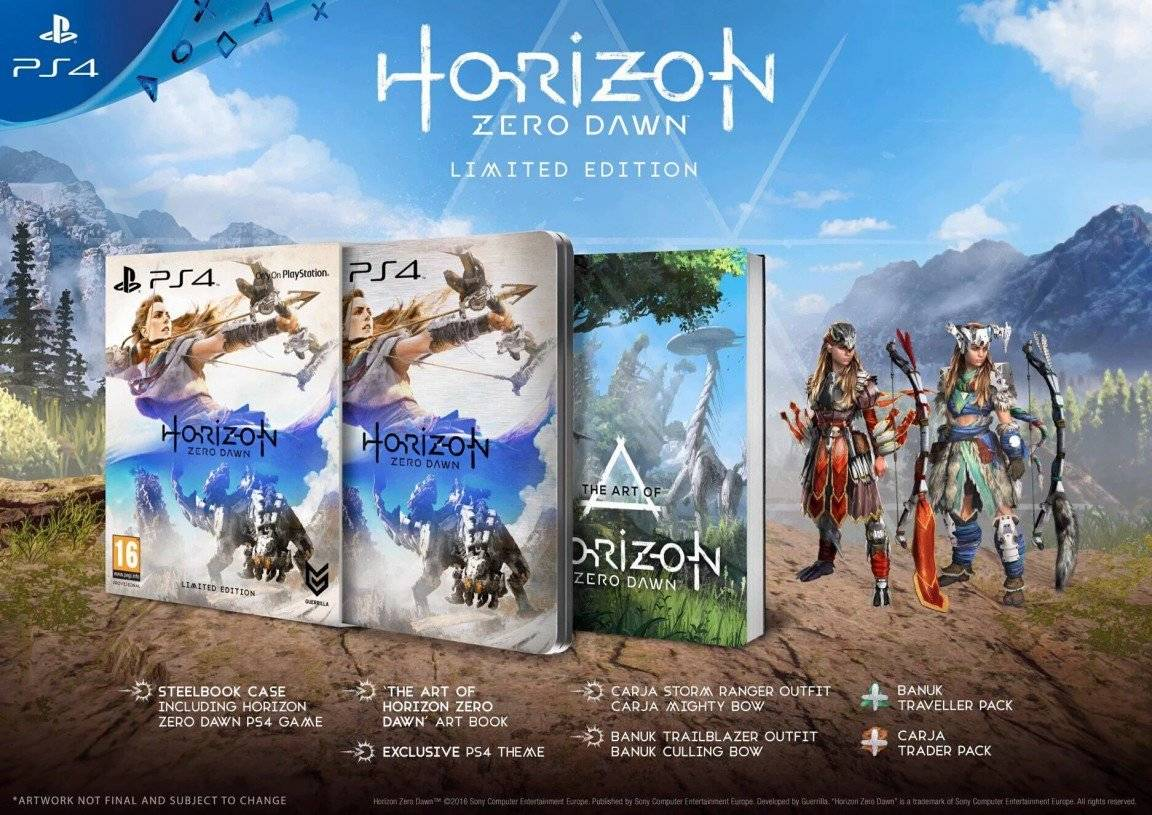 Vamers - FYI - Gaming - Take a look at Horizon Zero Dawn Collector's Editions Detailed - Limited Edition