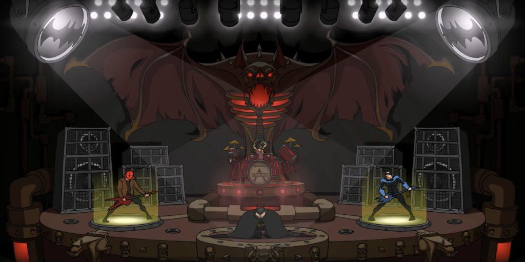 Vamers - Ermahgerd - Animation - Humour - Watch Batman Hilariously Front a Metal Band in BATMETAL - Banner 02
