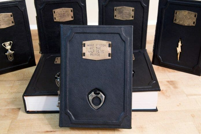 Vamers - FYI - Ermahgerd - SUATMM - Riddikulus-ly Gorgeous Leather Harry Potter Books - 05