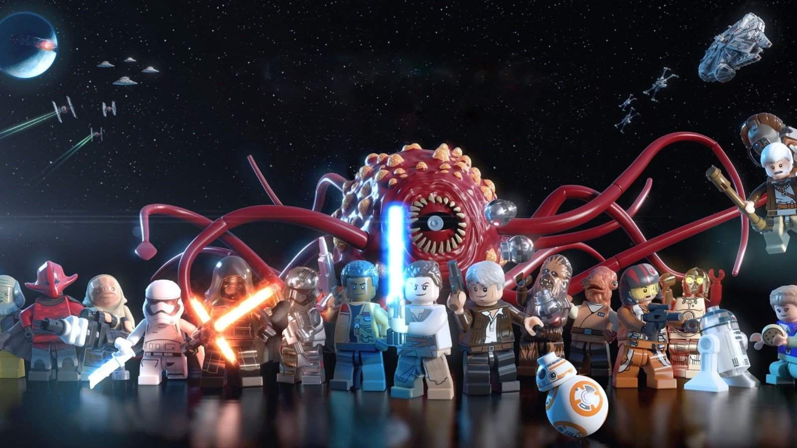Character Vignettes For Lego Star Wars The Force Awakens Are