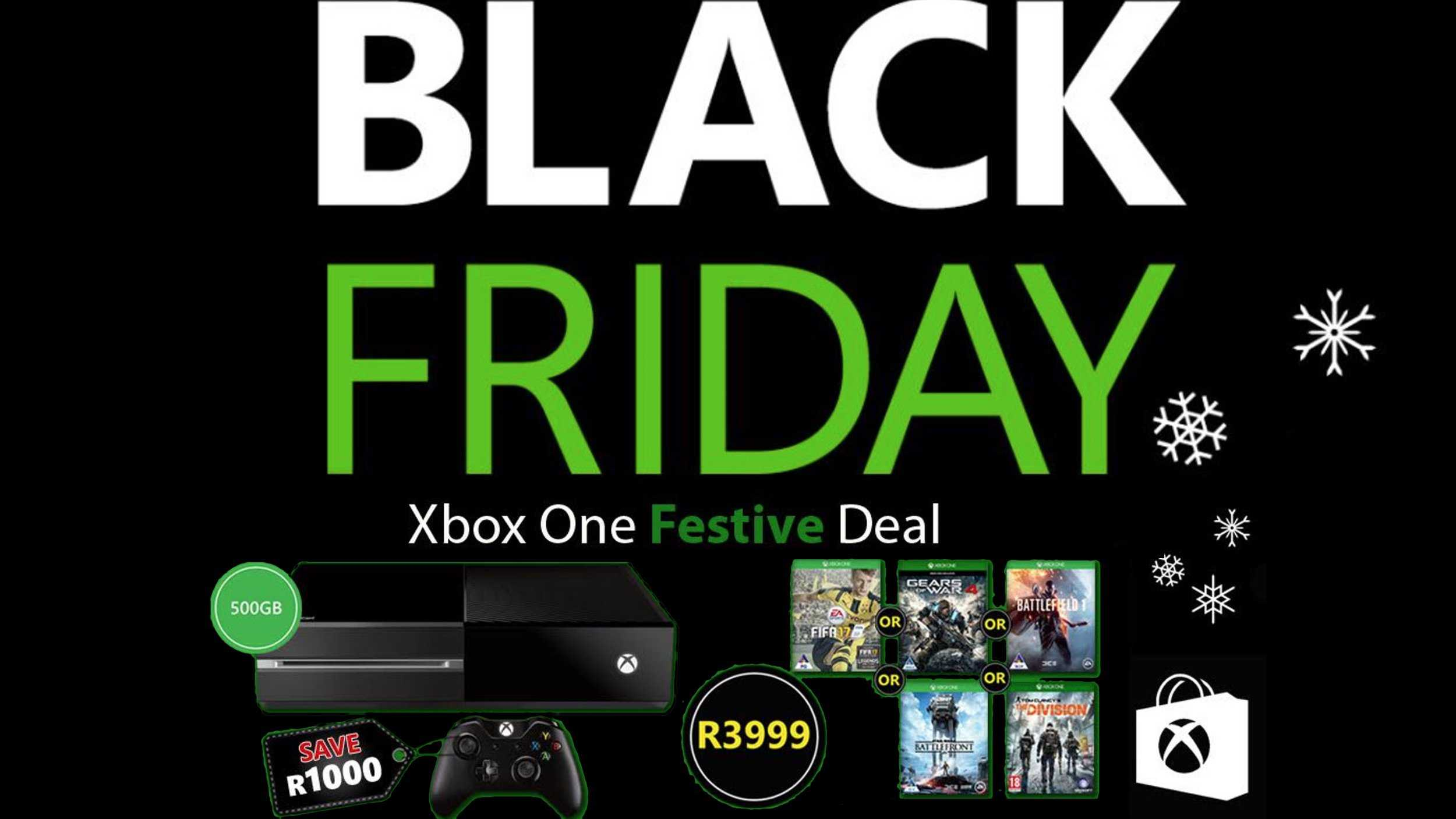 Xbox South Africa Extends Black Friday Console Deals