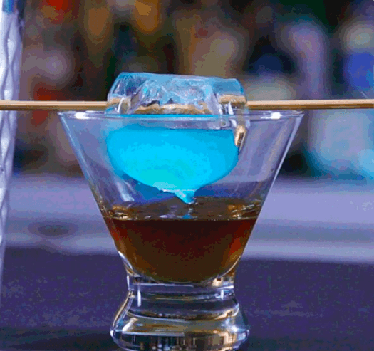 Mystical Doctor Strange Cocktail - Eye of Agamoto