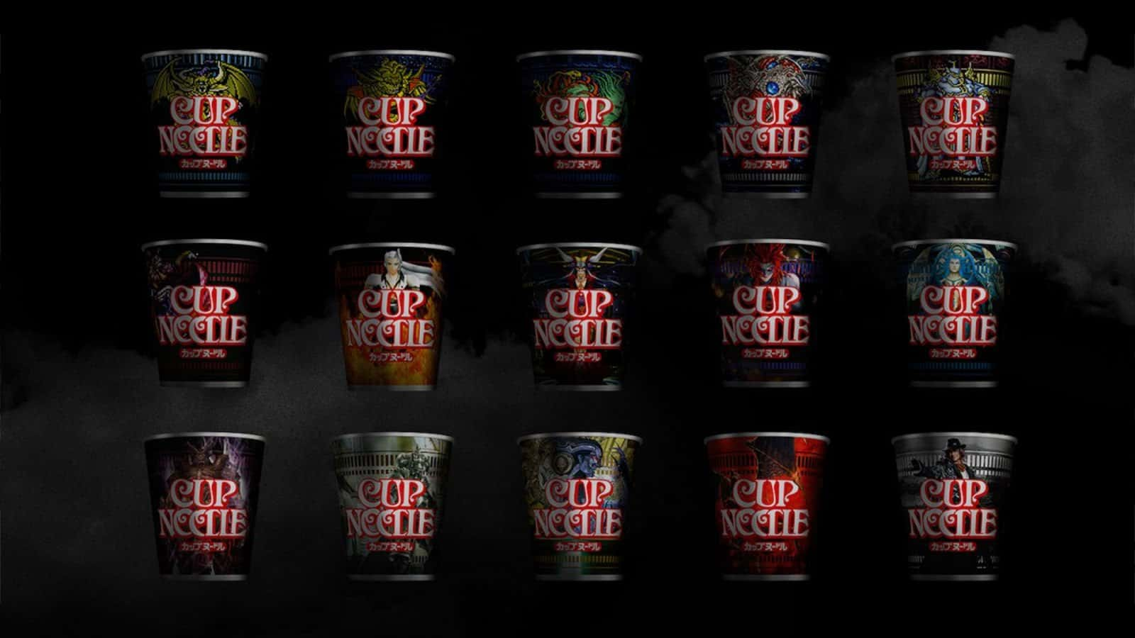 Vamers - FYI - Geekosphere - Behold Ultima Weapon Forks for the serious Cup Noodle enthusiast - 01