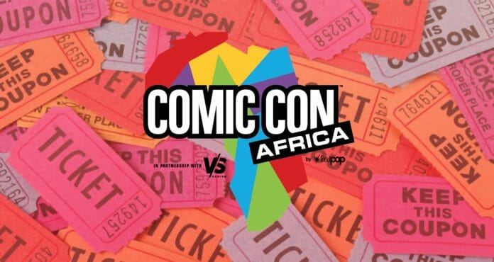 Win Comic Con Africa 2019 Tickets with Vamers and KFC