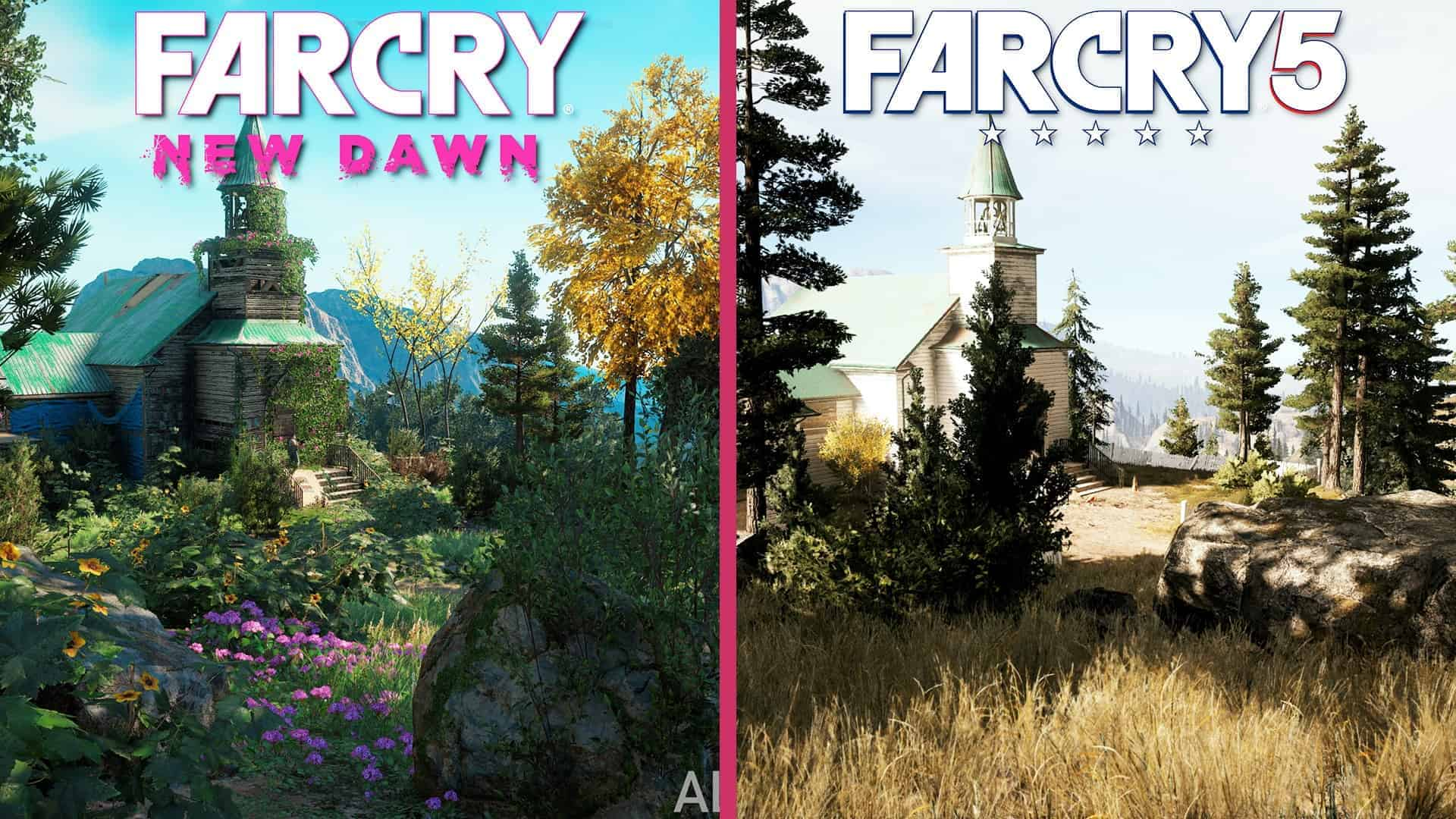 Far Cry 5 Vs Far Cry New Dawn 3 Major Differences