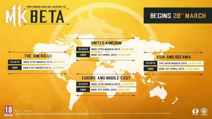 Mortal Kombat 11 beta Details